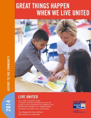 United Way Annual Report - Final
