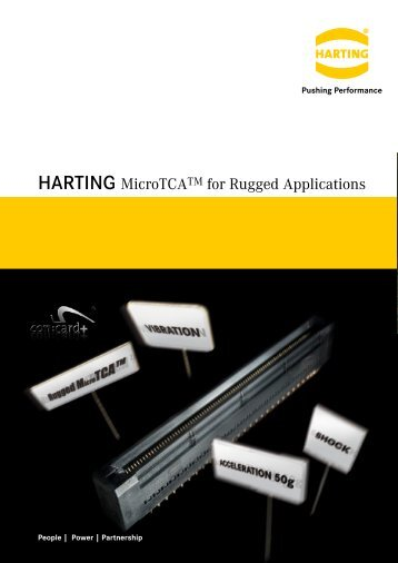 MicroTCA for Rugged Applications - Harting