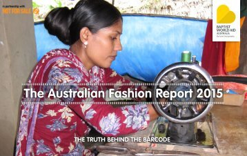 The Australian Fashion Report 2015