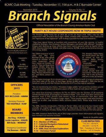 Branch Signals