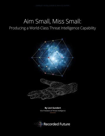 Aim Small Miss Small