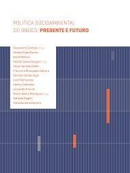 POLÍTICA SOCIOAMBIENTAL DO BNDES PRESENTE E FUTURO
