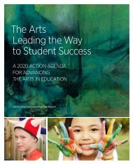 The Arts Leading the Way to Student Success