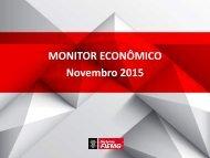 MONITOR ECONÔMICO Novembro 2015