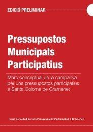 Pressupostos Municipals Participatius