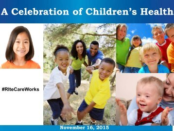 A Celebration of Children's Health