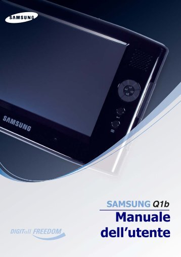 Samsung NP-Q1BM000/SEI - User Manual_6.16 MB, pdf, ITALIAN