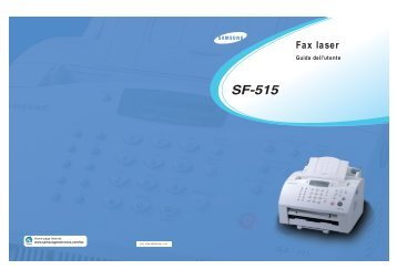 Samsung SF-515 - User Manual_4.37 MB, pdf, ITALIAN