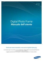 Samsung SPF-87H - User Manual(Model code type : LP**IPLE*)_10.8 MB, pdf, ITALIAN