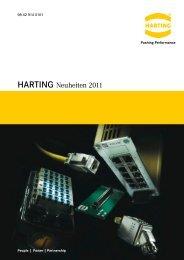 HARTING Neuheiten 2011