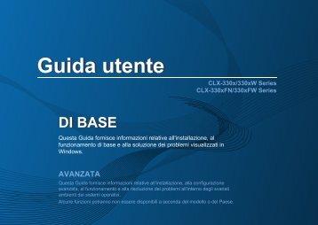 Samsung CLX-3305FW - User Manual_15.3 MB, pdf, ITALIAN