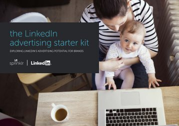 the LinkedIn advertising starter kit