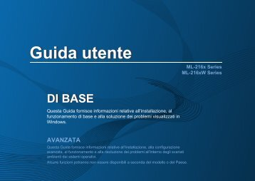 Samsung ML-2162 - User Manual_7.89 MB, pdf, ITALIAN