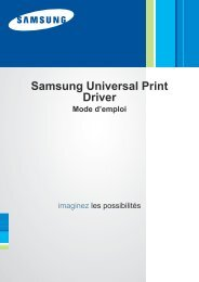 Samsung SCX-4300 - Universal Print Driver Guide_1.14 MB, pdf, FRENCH, MULTI LANGUAGE