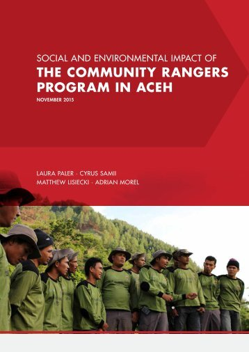 the Community Rangers Program in Aceh