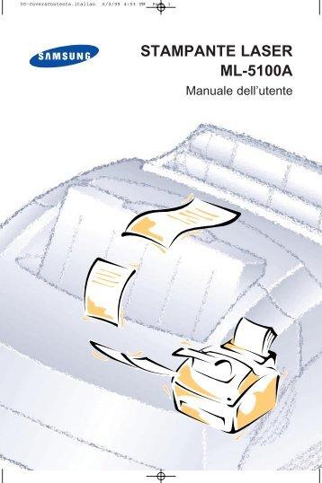 Samsung ML-5100A - User Manual_1.47 MB, pdf, ITALIAN
