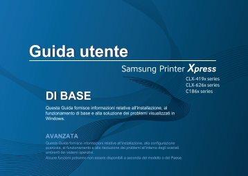 Samsung CLX-4195N - User Manual_53.37 MB, pdf, ITALIAN