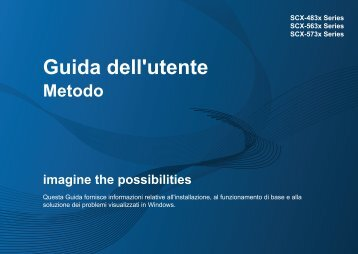 Samsung SCX-4833FR - User Manual_47.12 MB, pdf, ITALIAN