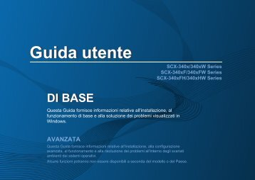 Samsung SCX-3405FW - User Manual_12.33 MB, pdf, ITALIAN