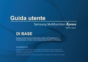 Samsung Multifunzione b/n Xpress M2070F (A4) (20 ppm) - User Manual_36.33 MB, pdf, ITALIAN