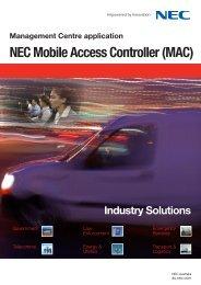 NEC Mobile Access Controller (MAC)