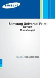 Samsung SCX-4824FN - Universal Print Driver Guide_1.14 MB, pdf, FRENCH, MULTI LANGUAGE