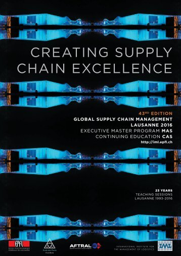 CREATING SUPPLY CHAIN EXCELLENCE