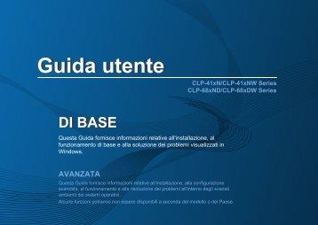 Samsung CLP-680DW - User Manual_25.74 MB, pdf, ITALIAN