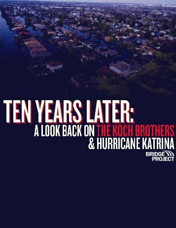Hurricane Katrina, 10 Years Later