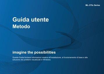 Samsung ML-3750ND - User Manual_13.58 MB, pdf, ITALIAN