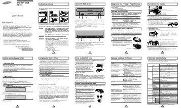 Samsung SD-616B - User Manual_0.27 MB, pdf, ENGLISH