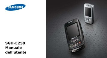 Samsung Samsung E250 - User Manual_0.81 MB, pdf, ITALIAN