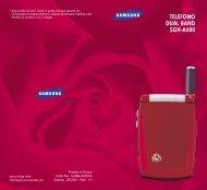 Samsung SGH-A400 - User Manual_0.75 MB, pdf, ITALIAN