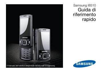 Samsung Samsung INNOV8 - Quick Guide_3.13 MB, pdf, ITALIAN