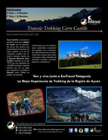 Travesía Trekking Cerro Castillo