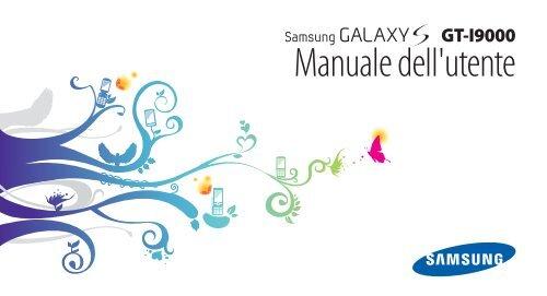 Samsung GT-I9000/RW8 - User Manual(GINGERBREAD Ver.)_2.04 MB, pdf, ITALIAN