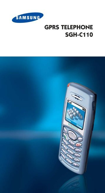 Samsung SGH-C110 - User Manual_1.35 MB, pdf, ENGLISH