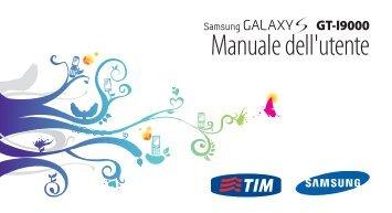 Samsung GT-I9000/RM8 - User Manual(Gingerbread)_2.98 MB, pdf, ITALIAN(TIM)