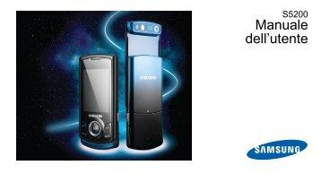 Samsung Samsung S5200 - User Manual_1.47 MB, pdf, ITALIAN