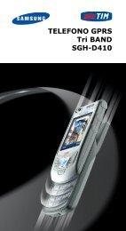 Samsung SGH-D410 - User Manual_2.08 MB, pdf, ITALIAN