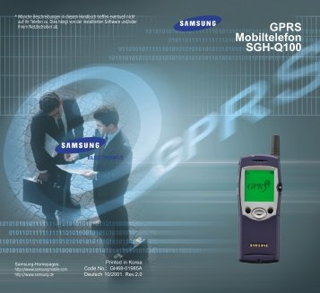 Samsung SGH-2100GB - User Manual_0.82 MB, pdf, ENGLISH