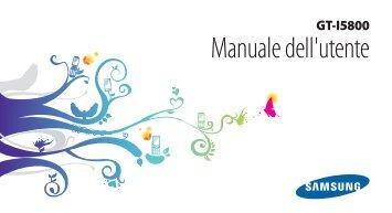 Samsung GT-I5800 - User Manual(Froyo)_1.97 MB, pdf, ITALIAN