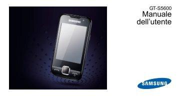 Samsung Samsung Halley - User Manual_3.42 MB, pdf, ITALIAN