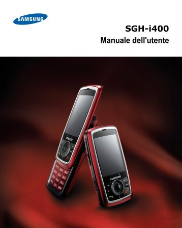 Samsung SGH-I400 - User Manual_14.9 MB, pdf, ITALIAN