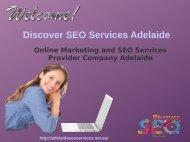 SEO Services provider company Adelaide