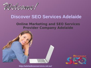 SEO Services provider company Adelaide