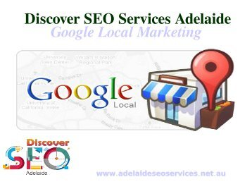 Google local Marketing services Adelaide