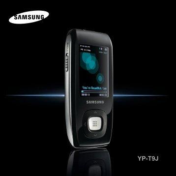 Samsung YP-T9JAB - User Manual_1.89 MB, pdf, ENGLISH