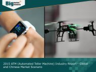 2015 ATM (Automated Teller Machine) Industry Research Analysis