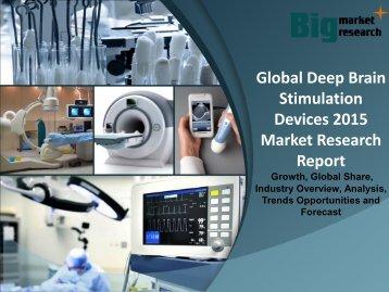 Global Deep Brain Stimulation Devices 2015 Deep Market Research Report